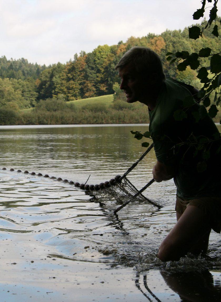 Fischfang mit dem Zugnetz