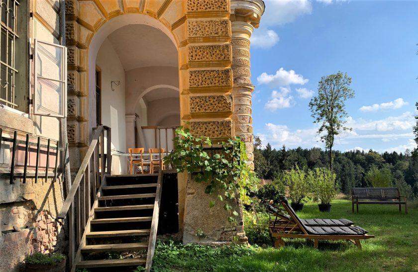 Ferienhaus Südsteiermark Winzerzimmer Urlaub Weinstraße Schilchergegend Schloss Sausal